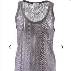 Lace Tank Top NWT